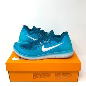 Nike - Wmns Free RN FlyKnit Running 'Aqua Burst'